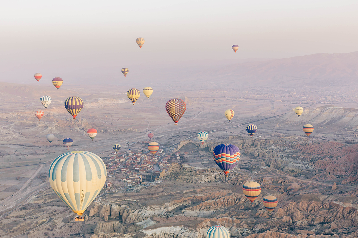 LAND OF WONDERS: CAPPADOCIA IN WINTER